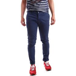 Textil Muži Mrkváče Sei3sei PZV21 7183 Modrý
