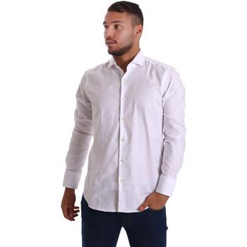 Textil Muži Košile s dlouhymi rukávy Gmf 971103/01 Bílý