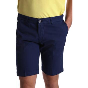 Textil Muži Kraťasy / Bermudy Sei3sei PZV132 7182 Modrý