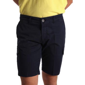 Textil Muži Kraťasy / Bermudy Sei3sei PZV130 7148 Modrý