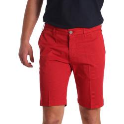 Textil Muži Kraťasy / Bermudy Sei3sei PZV132 71336 Červené