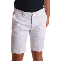 Textil Muži Kraťasy / Bermudy Sei3sei PZV132 71336 Bílý