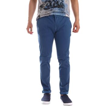 Textil Muži Mrkváče Sei3sei PZV156 71341 Modrý