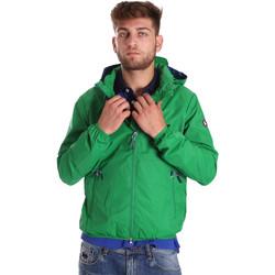 Textil Muži Větrovky U.S Polo Assn. 38275 43429 Zelený