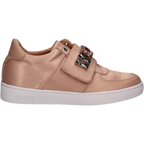 Boty Ženy Nízké tenisky Guess FLFLO1 SAT12 Růžový
