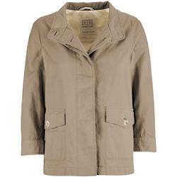 Textil Ženy Parky Geox W7223C T2343 Béžový
