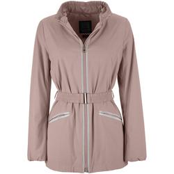 Textil Ženy Parky Geox W7223F T2334 Růžový