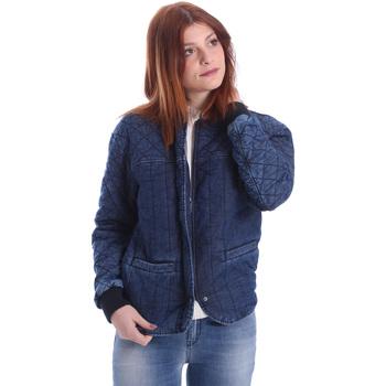Textil Ženy Bundy Gas 255425 Modrý