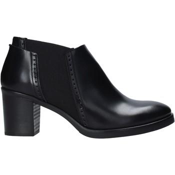 Boty Ženy Nízké kozačky Mally 5400 Černá