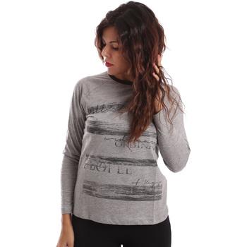 Textil Ženy Svetry Key Up SGV9 0001 Šedá