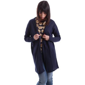 Textil Ženy Svetry / Svetry se zapínáním Gazel AB.MA.CA.0055 Modrý