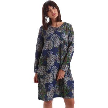 Textil Ženy Krátké šaty Gazel AB.AB.ML.0026 Modrý