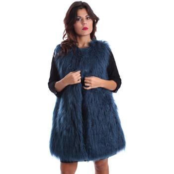 Textil Ženy Kabáty Gazel AB.CS.GL.0001 Modrý