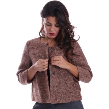 Textil Ženy Kabáty Gazel AB.CS.GI.0043 Růžový