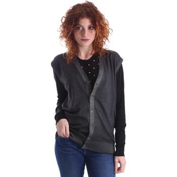 Textil Ženy Svetry / Svetry se zapínáním Wool&co WO0004 Šedá