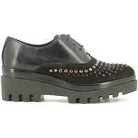 Boty Ženy Šněrovací společenská obuv Soldini 20030-2 Černá