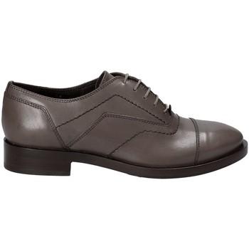 Boty Ženy Šněrovací společenská obuv Geox D642UG 00043 Šedá