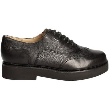 Boty Ženy Šněrovací společenská obuv Geox D643HD 04743 Černá
