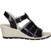 Boty Ženy Sandály Enval 7986 Modrý