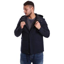 Textil Muži Prošívané bundy Antony Morato MMCO00424 FA600100 Modrý