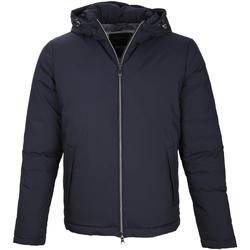Textil Muži Prošívané bundy Geox M8428P T2504 Modrý