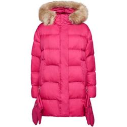 Textil Ženy Prošívané bundy Geox W9428V T2580 Růžový