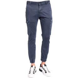 Textil Muži Cargo trousers  Gaudi 921BU25011 Modrý