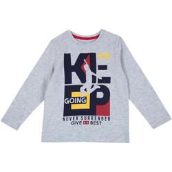 Textil Děti Trička s dlouhými rukávy Chicco 09006867000000 Šedá