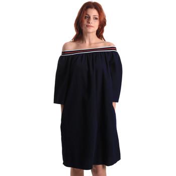 Textil Ženy Krátké šaty Fornarina SE178D60D883NT Modrý