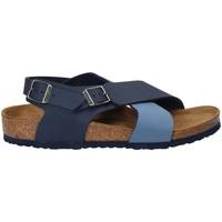 Boty Děti Sandály Birkenstock 1008506 Modrý