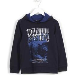 Textil Děti Mikiny Losan 623 6652AA Modrý
