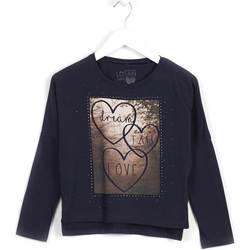 Textil Dívčí Mikiny Losan 624 1008AB Modrý