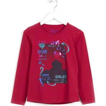 Textil Dívčí Mikiny Losan 624 1028AB Fialový