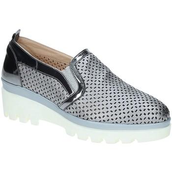 Boty Ženy Mokasíny Grace Shoes J306 Šedá