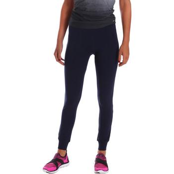 Textil Ženy Legíny Key Up 5LI21 0001 Modrý