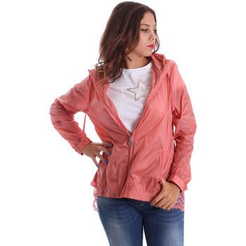 Textil Ženy Větrovky Fornarina BE173C30N29968 Růžový