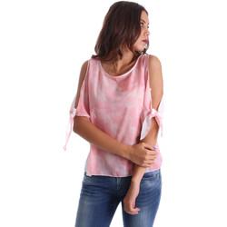 Textil Ženy Halenky / Blůzy Fornarina BE17T532CA11C5 Růžový