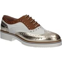 Boty Ženy Šněrovací společenská obuv Mally 5813 Zlato