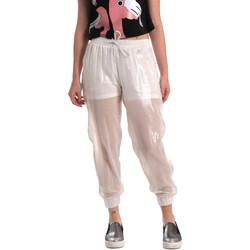 Textil Ženy Teplákové kalhoty Fornarina BE171L95CA0509 Bílý