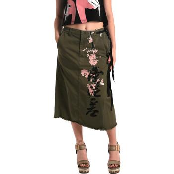 Textil Ženy Sukně Fornarina BE172C10G29231 Zelený