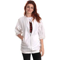 Textil Ženy Větrovky Fornarina BE173C31N30009 Bílý