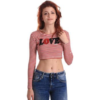 Textil Ženy Trička s dlouhými rukávy Fornarina BE175L14JG0976 Červené
