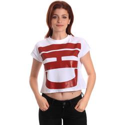 Textil Ženy Trička s krátkým rukávem Fornarina BE175L31JG0709 Bílý
