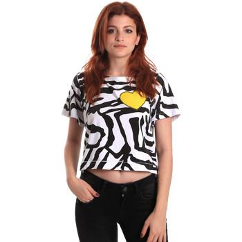 Textil Ženy Trička s krátkým rukávem Fornarina BE175L35JG0700 Černá