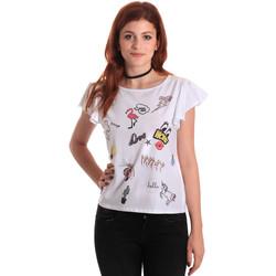 Textil Ženy Trička s krátkým rukávem Fornarina BE175L40JG0709 Bílý