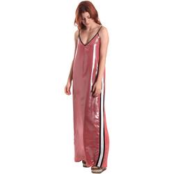 Textil Ženy Společenské šaty Fornarina BE178D61CA05E9 Růžový