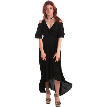 Textil Ženy Společenské šaty Fornarina BE178D69CA2000 Černá