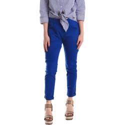 Textil Ženy Mrkváče Fornarina SE171L75G29112 Modrý