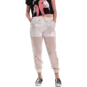 Textil Ženy Teplákové kalhoty Fornarina SE171L95CA0509 Bílý