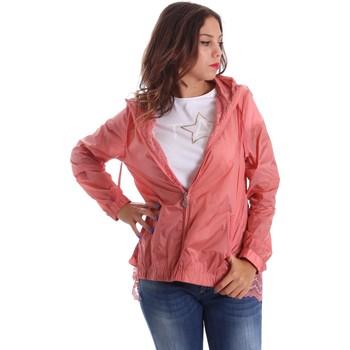 Textil Ženy Větrovky Fornarina SE173C30N29968 Růžový